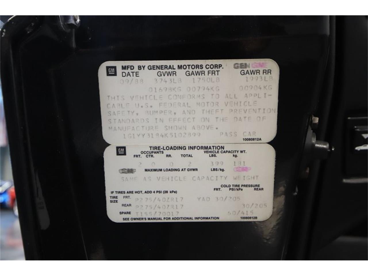 1989 Chevrolet Corvette (CC-1250778) for sale in Mesa, Arizona