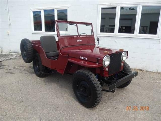1946 Willys CJ2A (CC-1257819) for sale in Cadillac, Michigan