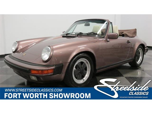 1987 Porsche 911 (CC-1258095) for sale in Ft Worth, Texas