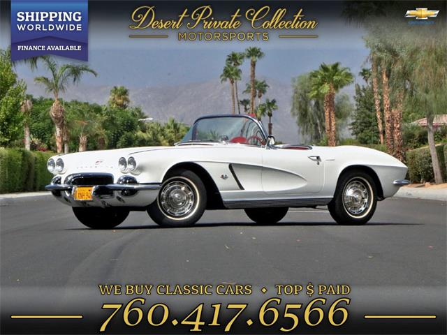 1962 Chevrolet Corvette (CC-1258264) for sale in Palm Desert , California