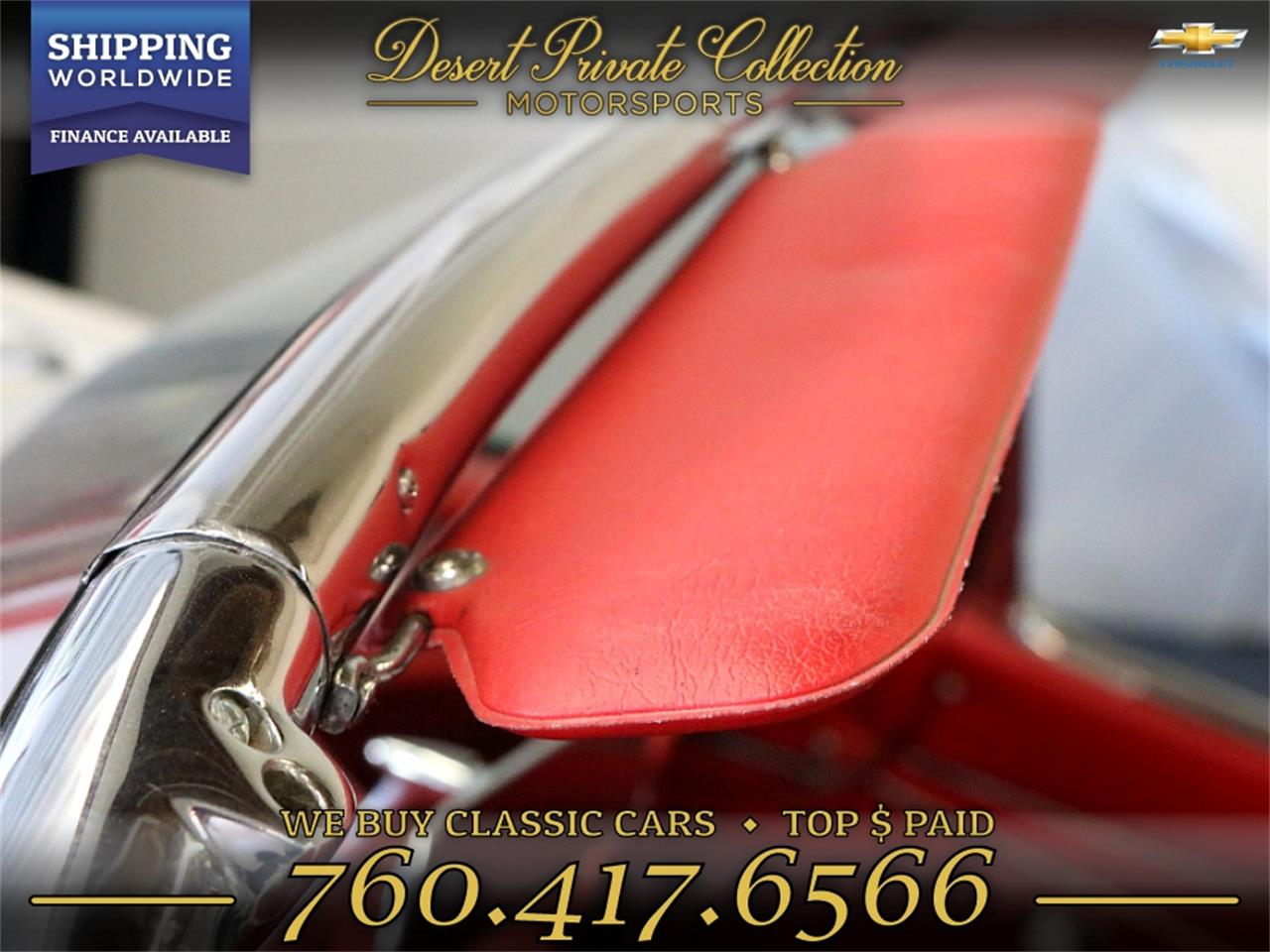 1962 Chevrolet Corvette (CC-1258264) for sale in Palm Desert , California