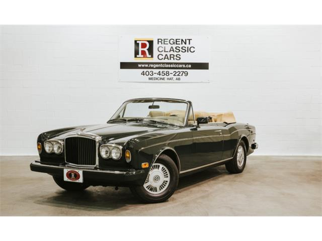 1987 Bentley Continental (CC-1258413) for sale in Redcliff, Alberta