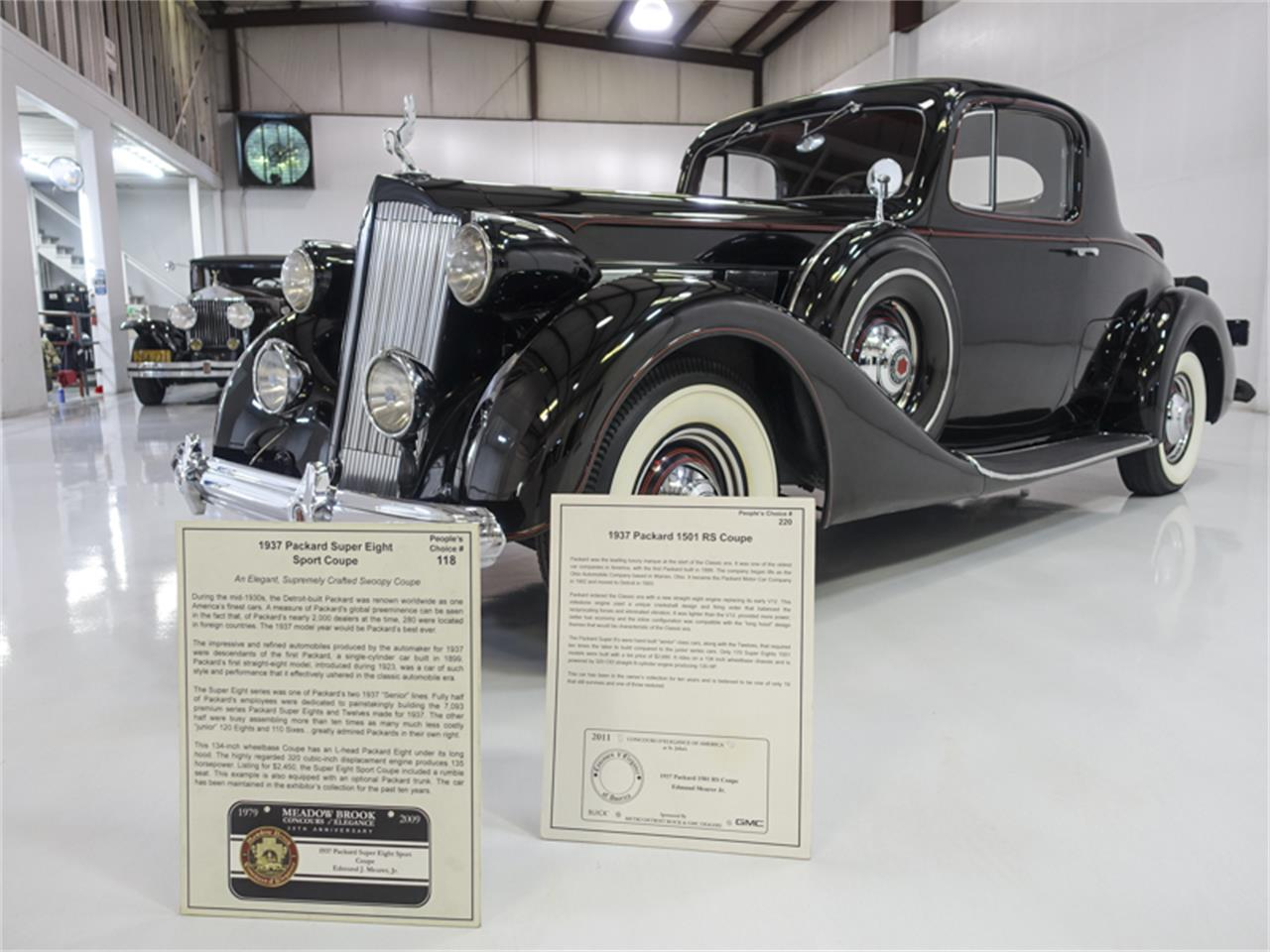 1937 Packard Super Eight (CC-1258498) for sale in Saint Louis, Missouri