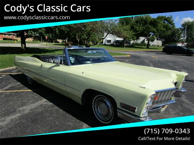 1968 Cadillac DeVille (CC-1258665) for sale in Stanley, Wisconsin