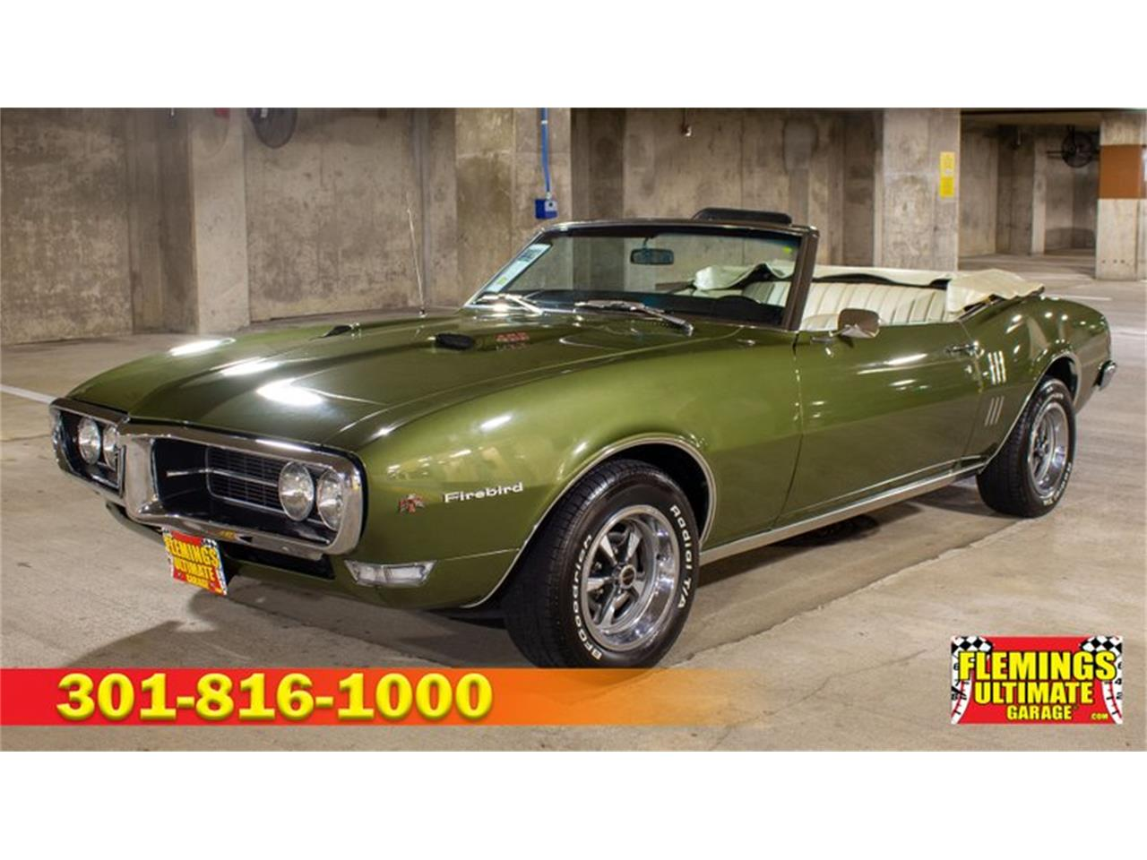 1968 Pontiac Firebird (CC-1258715) for sale in Rockville, Maryland