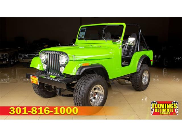 1974 Jeep CJ5 (CC-1258762) for sale in Rockville, Maryland