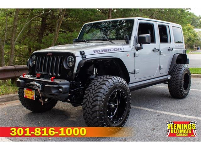2017 Jeep Wrangler (CC-1258796) for sale in Rockville, Maryland