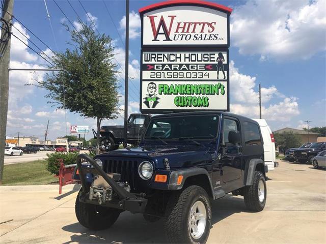 2006 Jeep Wrangler (CC-1258819) for sale in Houston, Texas