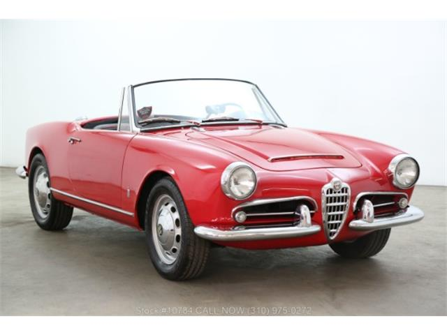 1965 Alfa Romeo Giulia Spider Veloce (CC-1259164) for sale in Beverly Hills, California