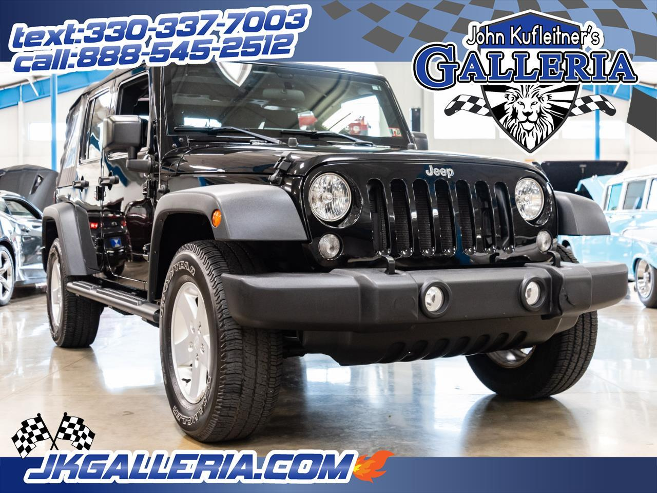 for sale 2015 jeep wrangler in salem, ohio cars - salem, oh at geebo