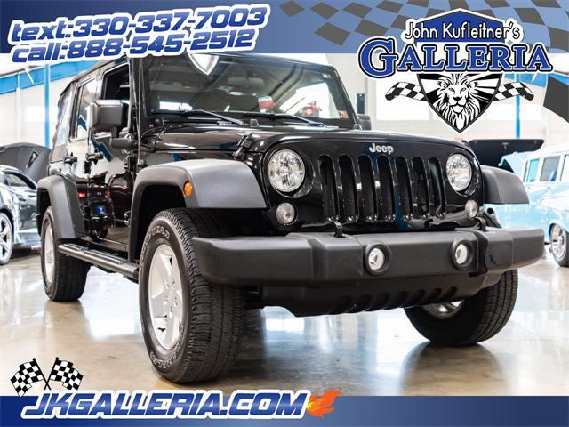 2015 Jeep Wrangler (CC-1259271) for sale in Salem, Ohio