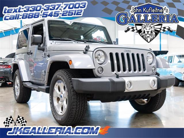2015 Jeep Wrangler (CC-1259273) for sale in Salem, Ohio
