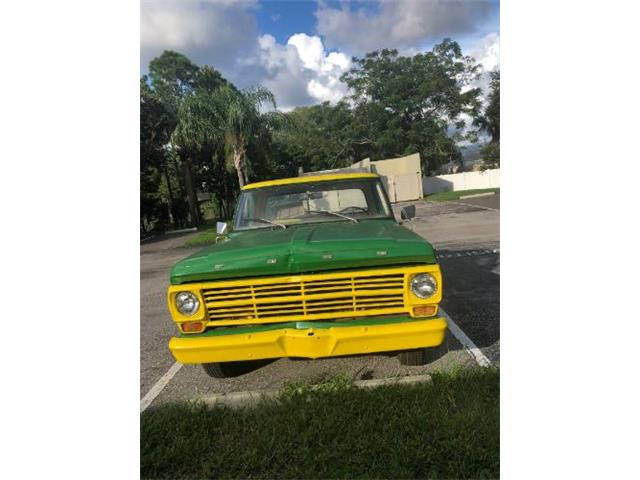1968 Ford F100 (CC-1259410) for sale in Cadillac, Michigan