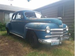 1946 Plymouth Special Deluxe (CC-1259555) for sale in Cadillac, Michigan
