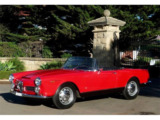 1964 Alfa Romeo 2600 (CC-1259620) for sale in Santa Barbara, California