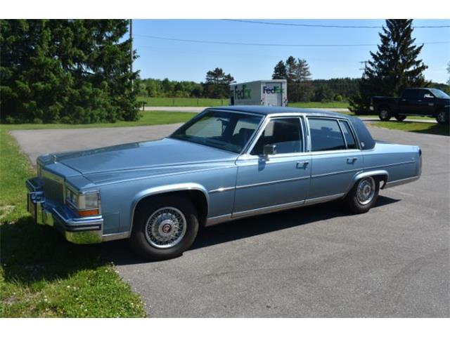 1987 Cadillac Fleetwood (CC-1259887) for sale in Cadillac, Michigan