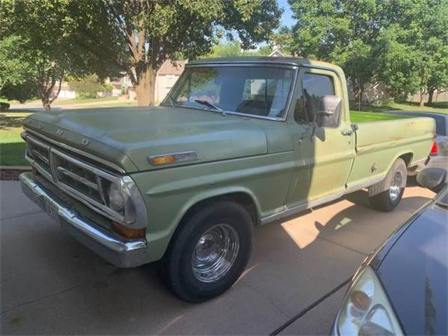 1971 Ford F100 (CC-1259912) for sale in Cadillac, Michigan