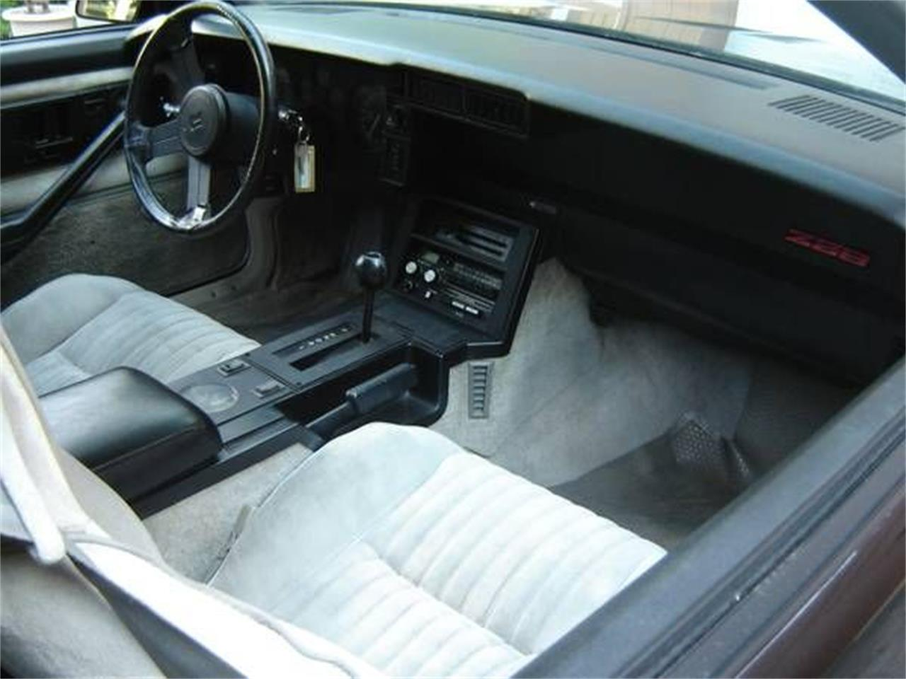 1982 Chevrolet Camaro (CC-1259914) for sale in Cadillac, Michigan