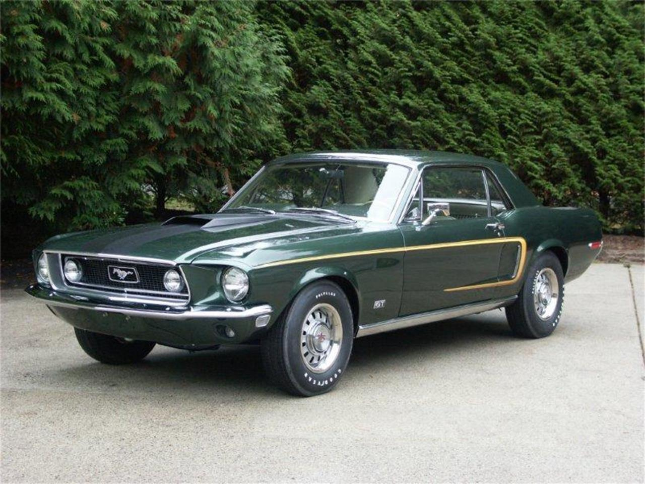 1968 Ford Mustang GT (CC-1261113) for sale in Halfmoon Bay , British Columbia