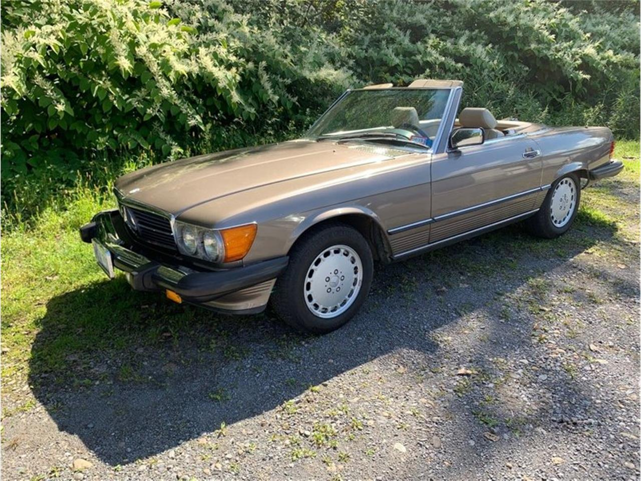 1987 Mercedes-Benz 560SL (CC-1261174) for sale in Saratoga Springs, New York