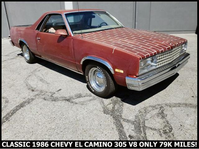 1986 Chevrolet El Camino (CC-1260134) for sale in Cadillac, Michigan