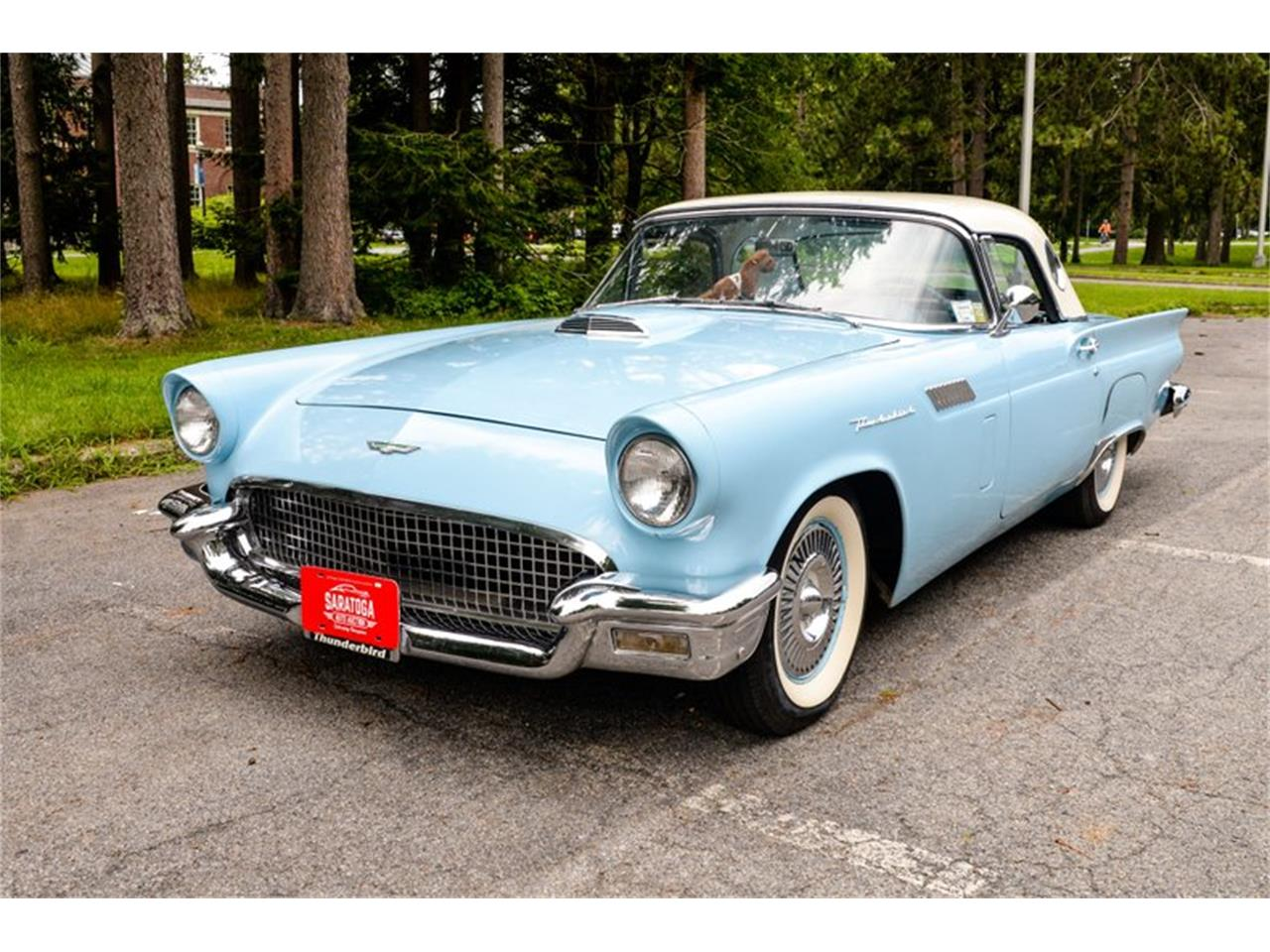 1957 Ford Thunderbird (CC-1261369) for sale in Saratoga Springs, New York