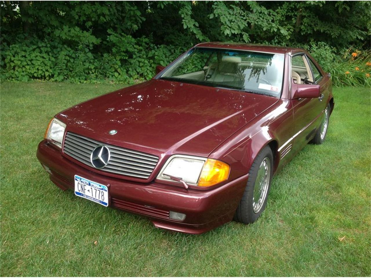 1992 Mercedes-Benz 500SL (CC-1261387) for sale in Saratoga Springs, New York