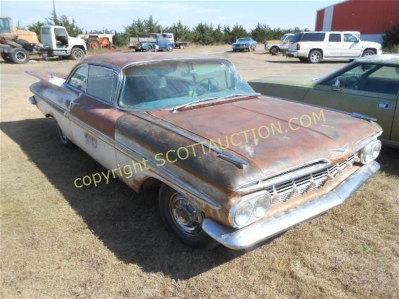 1959 Chevrolet Impala (CC-1261554) for sale in Garden City, Kansas
