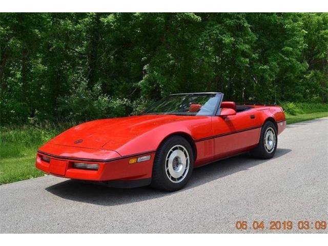 1987 Chevrolet Corvette (CC-1260017) for sale in Cadillac, Michigan