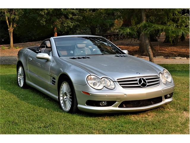 2004 Mercedes-Benz SL55 AMG (CC-1261721) for sale in Watchung, New Jersey
