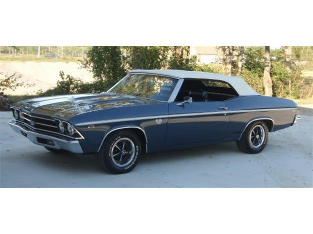 1969 Chevrolet Chevelle SS (CC-1262157) for sale in League City, Texas