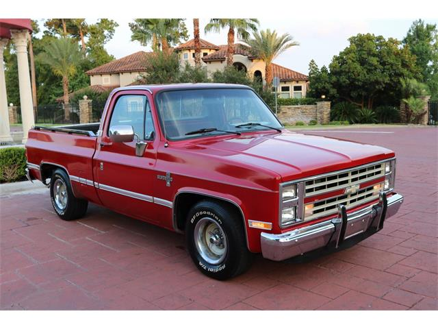 1987 Chevrolet C10 (CC-1262174) for sale in Conroe, Texas