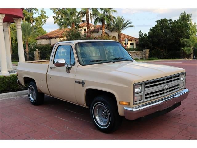 1987 Chevrolet C10 (CC-1262175) for sale in Conroe, Texas