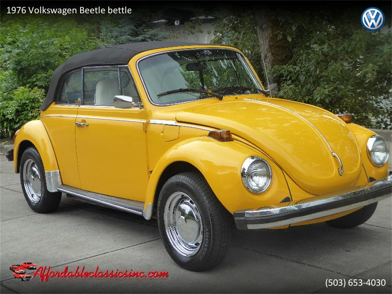 1976 Volkswagen Beetle (CC-1262388) for sale in Gladstone, Oregon