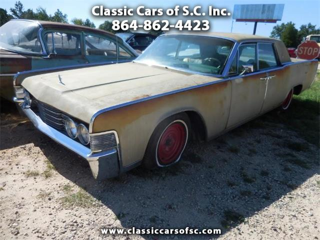 1965 Lincoln Continental (CC-1262770) for sale in Gray Court, South Carolina
