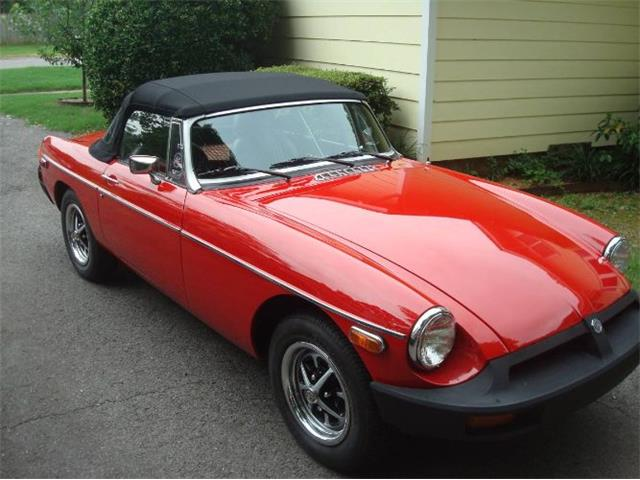 1977 MG MGB (CC-1260281) for sale in Cadillac, Michigan