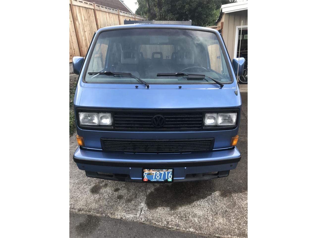 1989 Volkswagen Vanagon For Sale Classiccars Com Cc 1262837