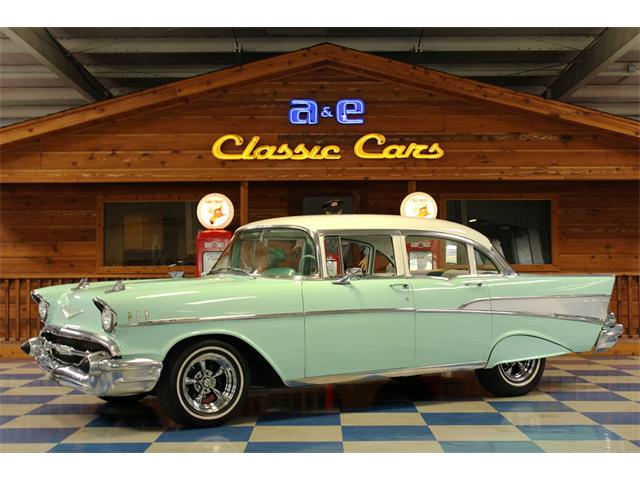 1957 Chevrolet Bel Air (CC-1263042) for sale in New Braunfels , Texas
