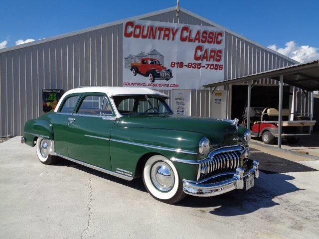 1950 DeSoto 4-Dr Sedan (CC-1263126) for sale in Staunton, Illinois