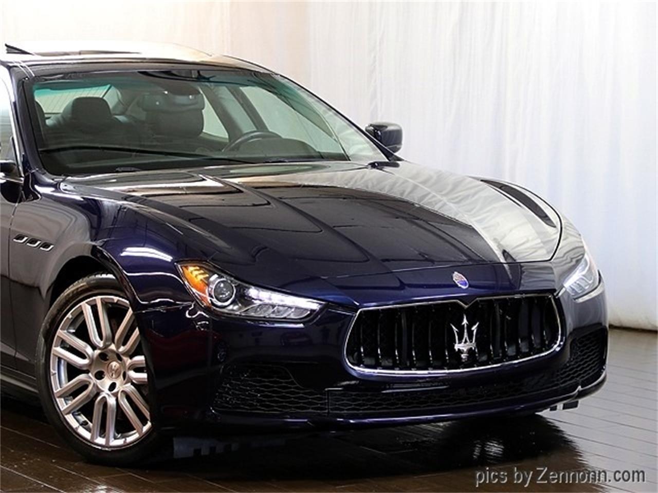 2016 Maserati Ghibli (CC-1263243) for sale in Addison, Illinois