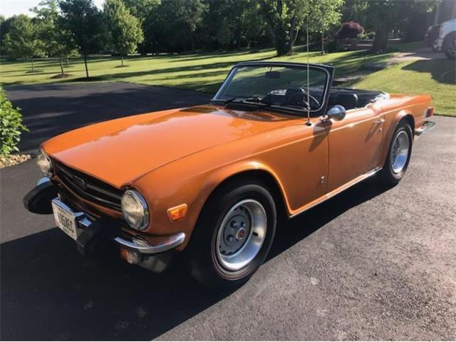1976 Triumph TR6 (CC-1263330) for sale in Cadillac, Michigan