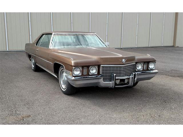 1972 Cadillac 2-Dr Coupe (CC-1263435) for sale in Alpine, Texas