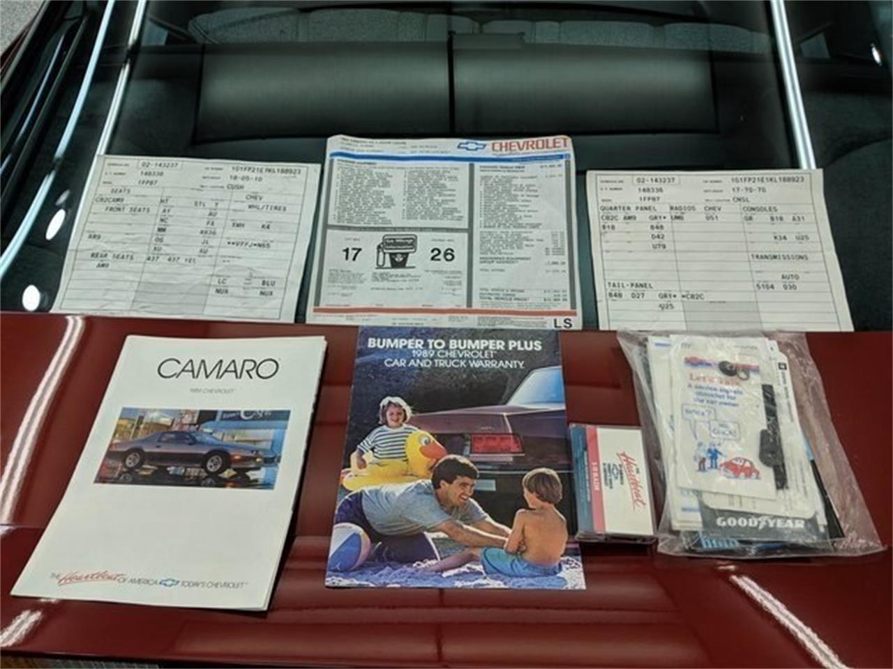 1989 Chevrolet Camaro (CC-1263876) for sale in Sioux Falls, South Dakota