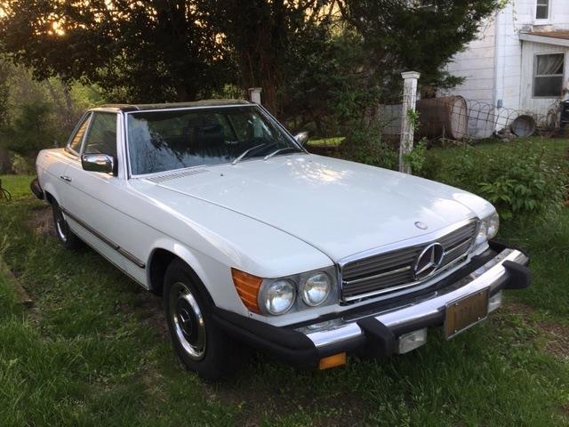 1977 Mercedes-Benz 450SL (CC-1263906) for sale in Lynchburg, Virginia