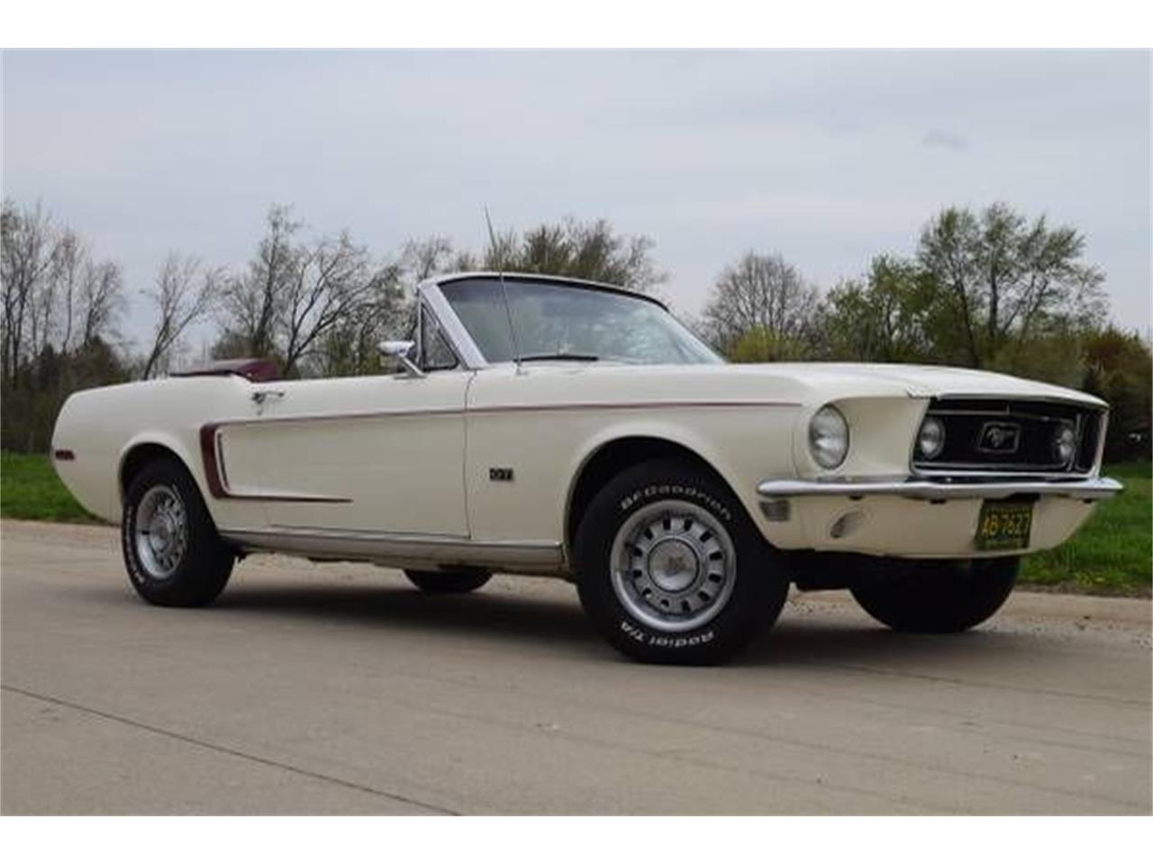 1968 Ford Mustang (CC-1260393) for sale in Cadillac, Michigan