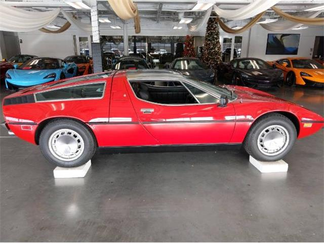 1973 Maserati Bora (CC-1263996) for sale in Cadillac, Michigan