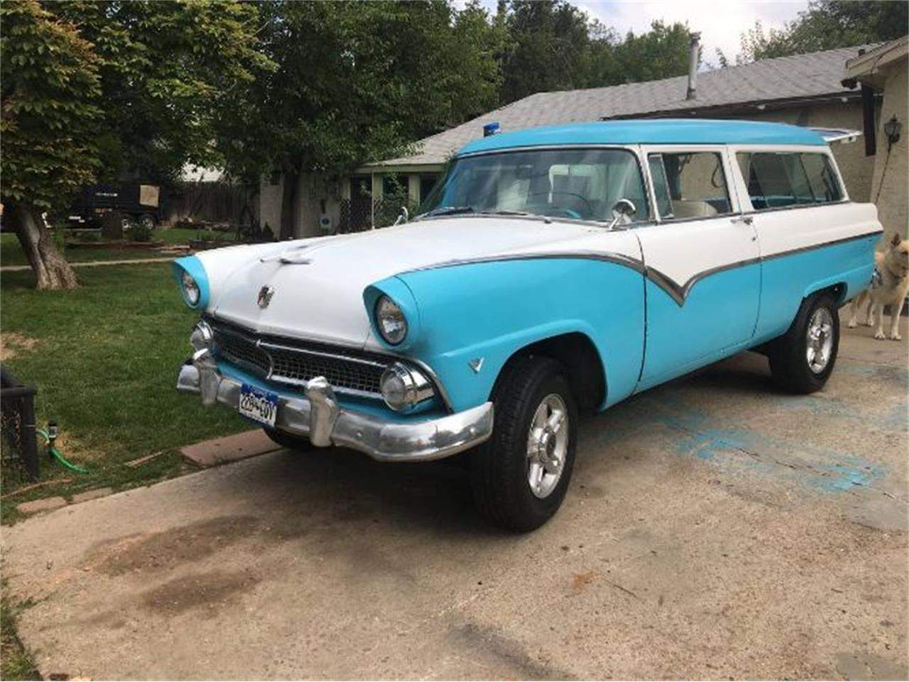 1955 Ford Ranch Wagon (CC-1264000) for sale in Cadillac, Michigan