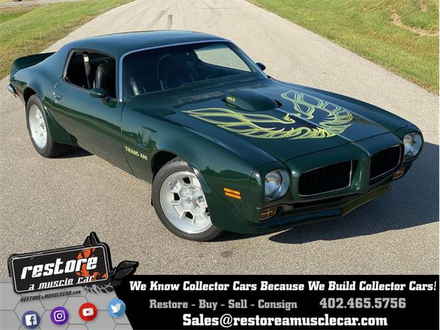 1973 Pontiac Firebird Trans Am (CC-1264187) for sale in Lincoln, Nebraska