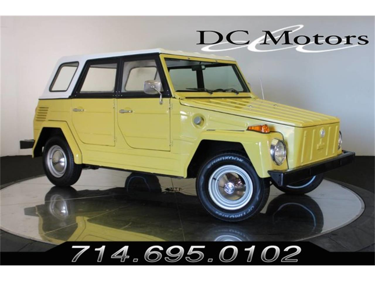 1974 Volkswagen Thing (CC-1264190) for sale in Anaheim, California