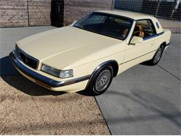 1989 Chrysler TC by Maserati (CC-1260423) for sale in Cadillac, Michigan